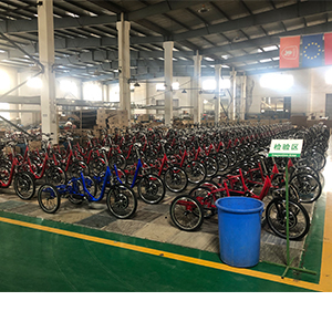 Electric tricycle production